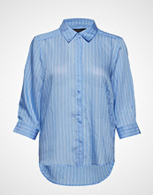 Soft Rebels Mina Shirt Langermet Skjorte Blå SOFT REBELS