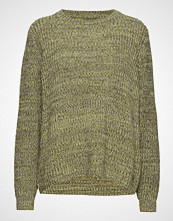 Twist & Tango Leona Sweater Multi Yellow Strikket Genser Grønn TWIST & TANGO