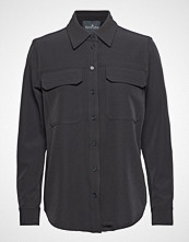 Designers Remix Veronique Shirt Langermet Skjorte Grå DESIGNERS REMIX