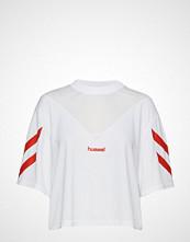 Hummel Hive Hmlani T-Shirt S/S T-shirts & Tops Short-sleeved Hvit HUMMEL HIVE