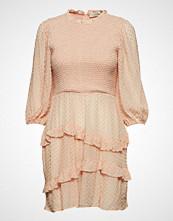 Mayla Stockholm Harper Smock Dress Knelang Kjole Rosa MAYLA STOCKHOLM