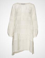 Cathrine Hammel Neroli Dress Kort Kjole Creme CATHRINE HAMMEL