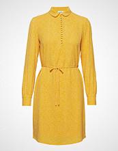 Modström Magnolia Print Dress Knelang Kjole Gul MODSTRÖM