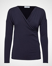 Max & Co. Creta T-shirts & Tops Long-sleeved Blå MAX&CO.