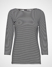 Nanso Ladies Shirt, Liitu T-shirts & Tops Long-sleeved Svart NANSO