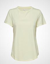 Banana Republic Supima® Cotton Crew-Neck T-Shirt T-shirts & Tops Short-sleeved Gul BANANA REPUBLIC