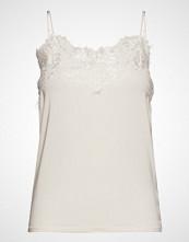 Soaked in Luxury Sl Clara Singlet Forever Irresistib T-shirts & Tops Sleeveless Hvit SOAKED IN LUXURY