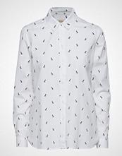 Barbour Barbour Helm Shirt Langermet Skjorte Hvit BARBOUR