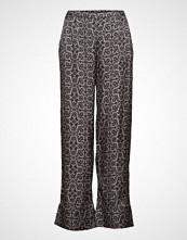 Odd Molly Magic Garden Pants Bukser Med Rette Ben Svart ODD MOLLY