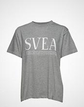Svea Oxford Tee T-shirts & Tops Short-sleeved Grå SVEA