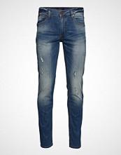 Lindbergh Tapered Fit Jeans Slim Jeans Blå LINDBERGH