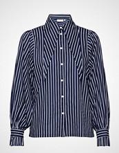 Minimum Henriette Langermet Skjorte Blå MINIMUM