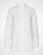 Filippa K Indra Cotton Silk Shirt Langermet Skjorte Hvit FILIPPA K