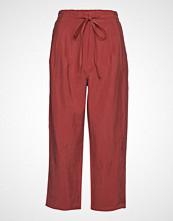 Mango Soft Straight Trousers Vide Bukser Rød MANGO