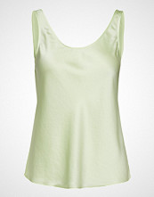 Filippa K Satin Slip Top T-shirts & Tops Sleeveless Grønn FILIPPA K
