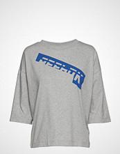 Reebok Wor Myt Graphic Tee T-shirts & Tops Short-sleeved Grå REEBOK