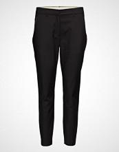 Coster Copenhagen Pants With Zipper Pockets - Julia Bukser Med Rette Ben Svart COSTER COPENHAGEN
