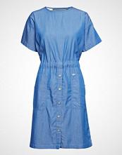 Lee Jeans Tie Dress Knelang Kjole Blå LEE JEANS