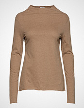 Totême Pompei T-shirts & Tops Long-sleeved Beige TOTÊME