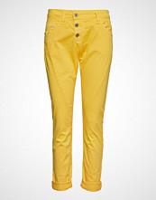 Please Jeans C Cotton Bukser Med Rette Ben Gul PLEASE JEANS
