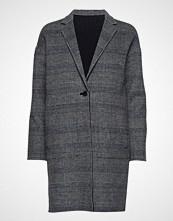 Gant G1. Reversible Handstitched Coat Ullfrakk Frakk Grå GANT