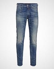 Replay Anbass Slim Jeans Blå REPLAY