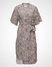 Hope Split Dress Knelang Kjole Multi/mønstret HOPE
