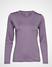 DAILY SPORTS Base Ls Tee T-shirts & Tops Long-sleeved Lilla DAILY SPORTS