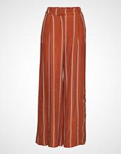 Second Female Eddison Hw Trousers Vide Bukser Oransje SECOND FEMALE