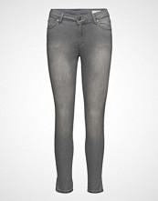 2nd One Nicole 067 Warm Grey Split, Jeans Slim Jeans Grå 2ND