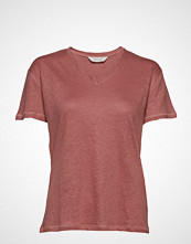 Gai+Lisva Sif V-Neck T-shirts & Tops Short-sleeved Rosa GAI+LISVA