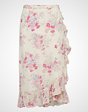by Ti Mo Semi Couture Wrap Skirt Knelangt Skjørt Rosa BY TI MO