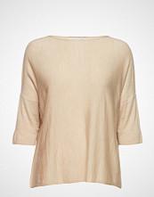 Cathrine Hammel Wide Tee T-shirts & Tops Short-sleeved Creme CATHRINE HAMMEL