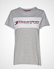 Tommy Sport Logo Driver T-Shirt T-shirts & Tops Short-sleeved Grå TOMMY SPORT
