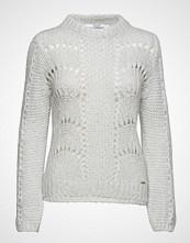 GUESS Jeans Ls Rn Rita Sweater Strikket Genser Hvit GUESS JEANS