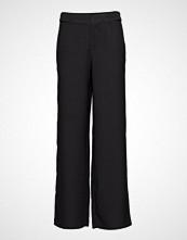 Scotch & Soda Tailored Wide Leg Pants Vide Bukser Svart SCOTCH & SODA