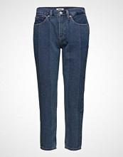 Tommy Jeans High Rise Slim Izzy Crop Ntjmb Slim Jeans Blå TOMMY JEANS