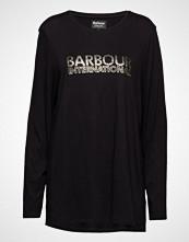 Barbour B.Intl Sideline Tee T-shirts & Tops Long-sleeved Svart BARBOUR