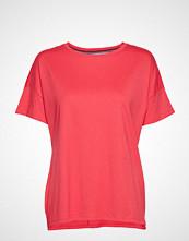 Esprit Sport T-Shirts T-shirts & Tops Short-sleeved Rød ESPRIT SPORT