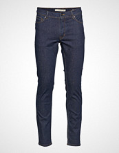 Mango Man Slim-Fit Dark Wash Jan Jeans Slim Jeans Blå MANGO MAN