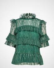 By Malina Rachel Blouse Bluse Kortermet Grønn BY MALINA