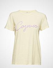 Levete Room Lr-Alvina T-shirts & Tops Short-sleeved Creme LEVETE ROOM