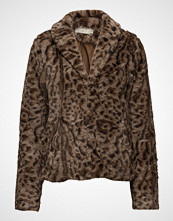 Cream Char Fur Jacket Jakke Brun CREAM