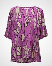 Masai Doxa Top T-shirts & Tops Short-sleeved Lilla MASAI