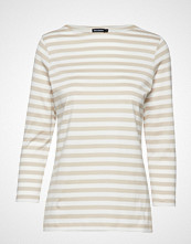 Marimekko Ilma 2017 Shirt T-shirts & Tops Long-sleeved Creme MARIMEKKO