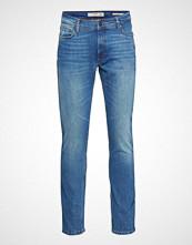 Mango Man Slim-Fit Medium Wash Jan Jeans Slim Jeans Blå MANGO MAN