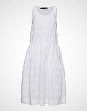 Love Moschino Love Moschino-Dress Knelang Kjole Hvit LOVE MOSCHINO