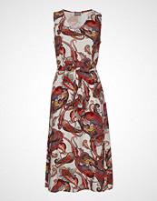 B.Young Bygrace Dress - Knelang Kjole Multi/mønstret B.YOUNG