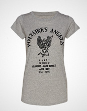 Zadig & Voltaire Skinny Voltaire Angels Spi T-shirts & Tops Short-sleeved Grå ZADIG & VOLTAIRE