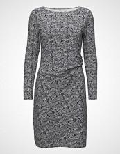 Signal Dress Knelang Kjole Grå SIGNAL